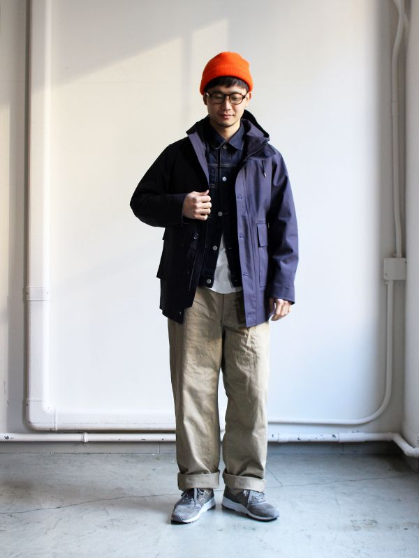 2018 年の「nanamica GORE,TEX Cruiser Jacket」