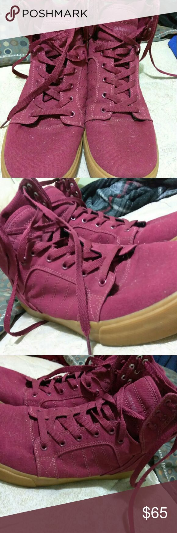 Supra Muska 001 size 11.5 Little to no wear and tear no box used it for a fire starter Supra Shoes Sneakers