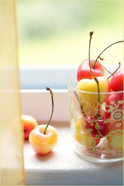 Rainier Cherries: my absolute favorite summertime treat