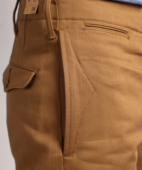 RRL Officer's Chino Selvage