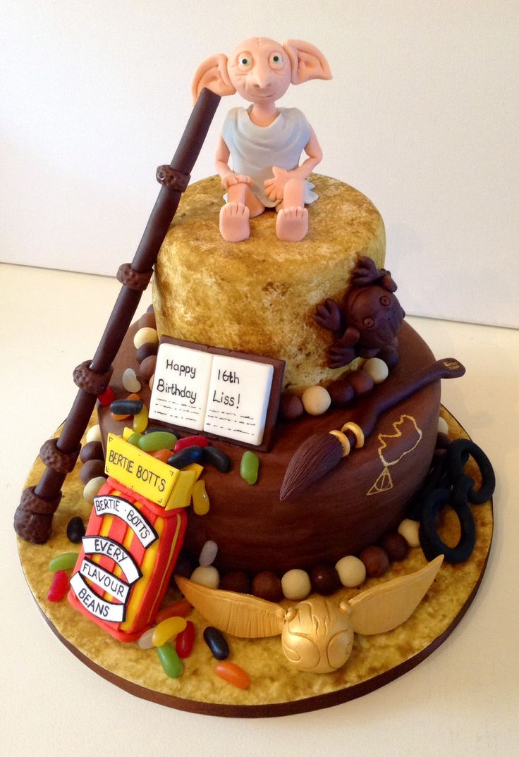 Harry Potter cake - For all your cake decorating supplies, please visit craftcompany.co.uk