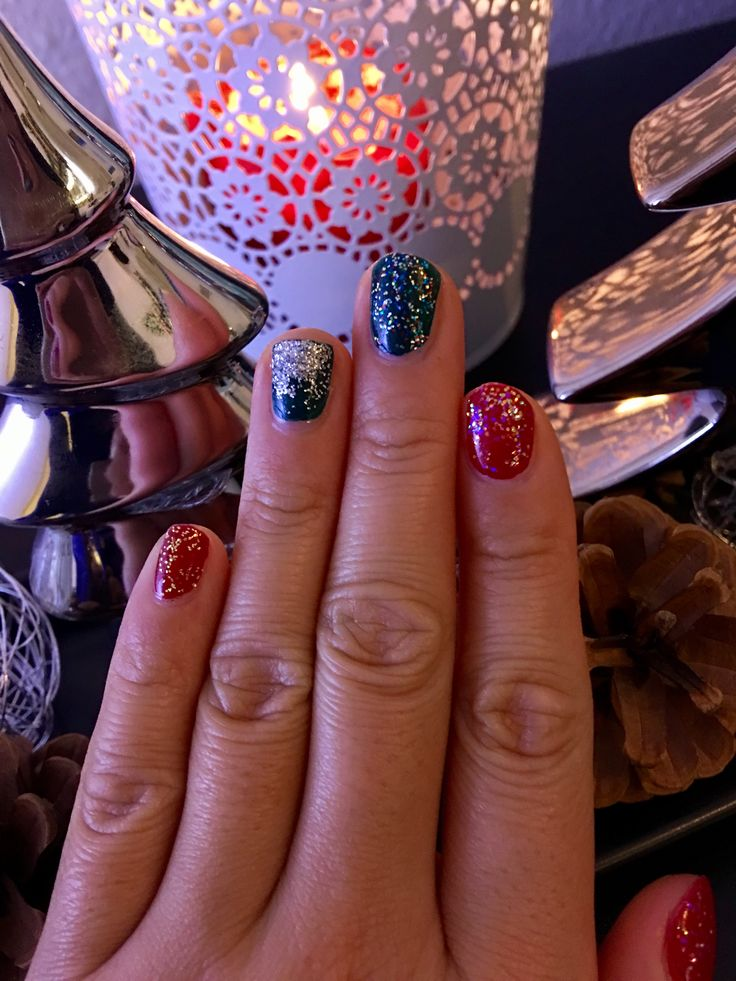 Did you know: You can also use our disco glitter to get sparkle and glitz  on your nails