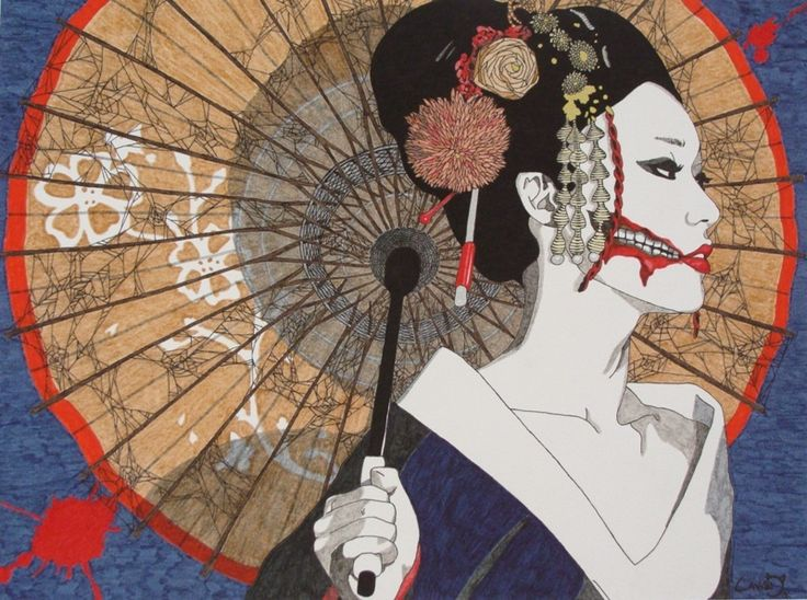 Kuchisake-onna, la femme à la bouche fendue
