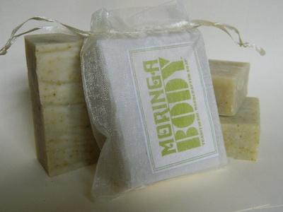 Handcrafted Moringa & Tea Tree Soap from MoringaBody just £3.50