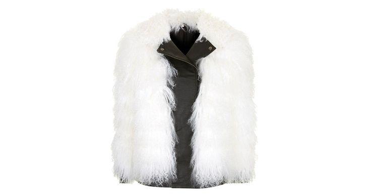 mongolian biker jacket.  Or, my leather plus a fur vest http://carolinesmode.com/fashion/art/313812/_mongolian_biker_jacket/