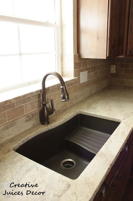 Creative Juices Decor: Have you ever heard of Honed Granite? Update on the Kitchen