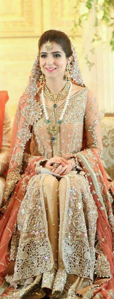 Pakistani wedding.Lovely dress