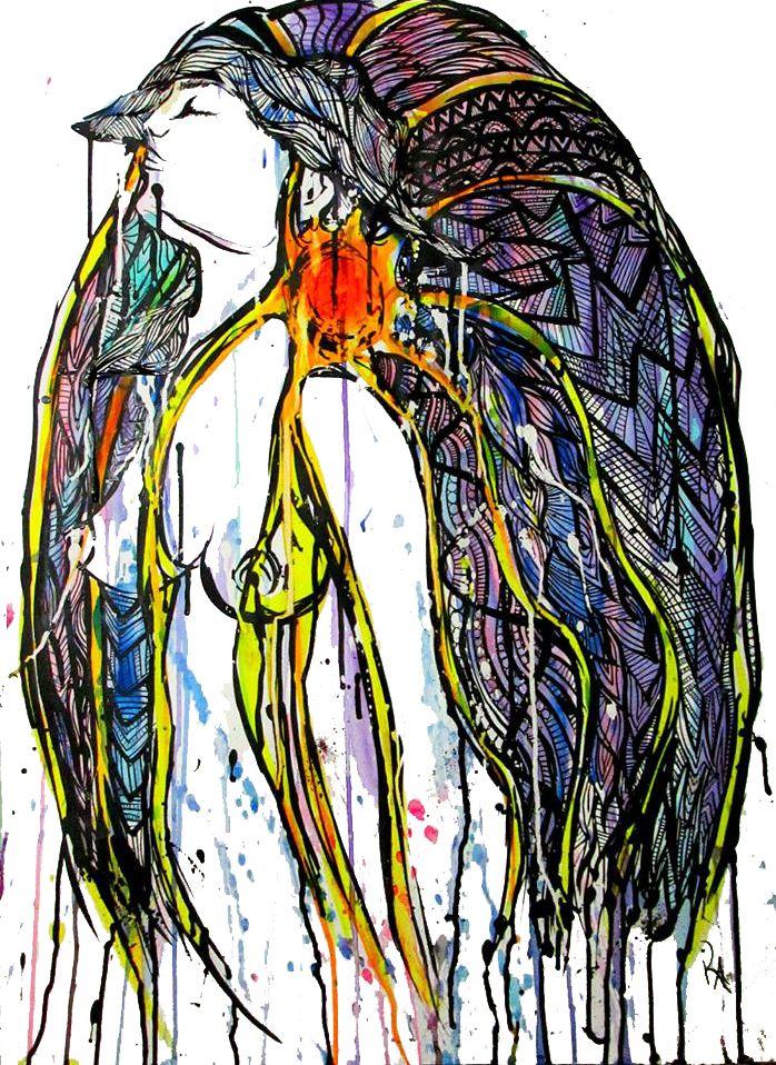 Rainbow Woman Kelly-Anne Love Originals