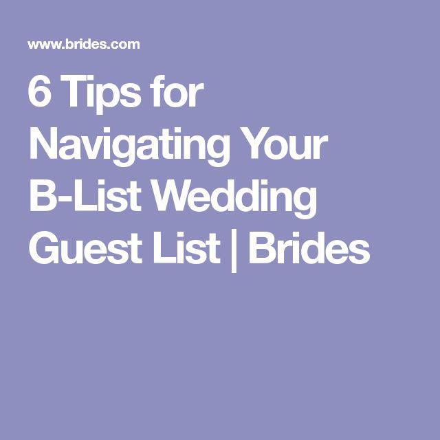 Best 25+ Wedding guest list ideas on Pinterest Guest list - sample guest list
