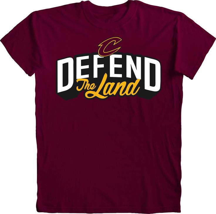 Cleveland Cavaliers Defend The Land Cavs Playoff T-Shirt