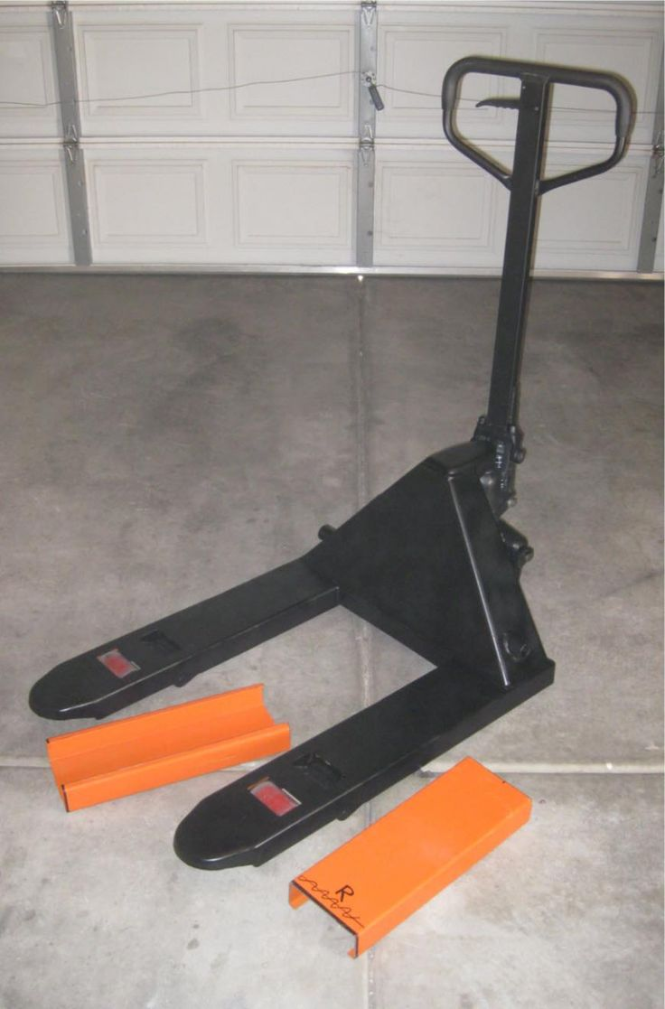 Shortened Pallet Jack by 18 Inches by MetalDesigner - The pallet jack I purchased on sale came 48