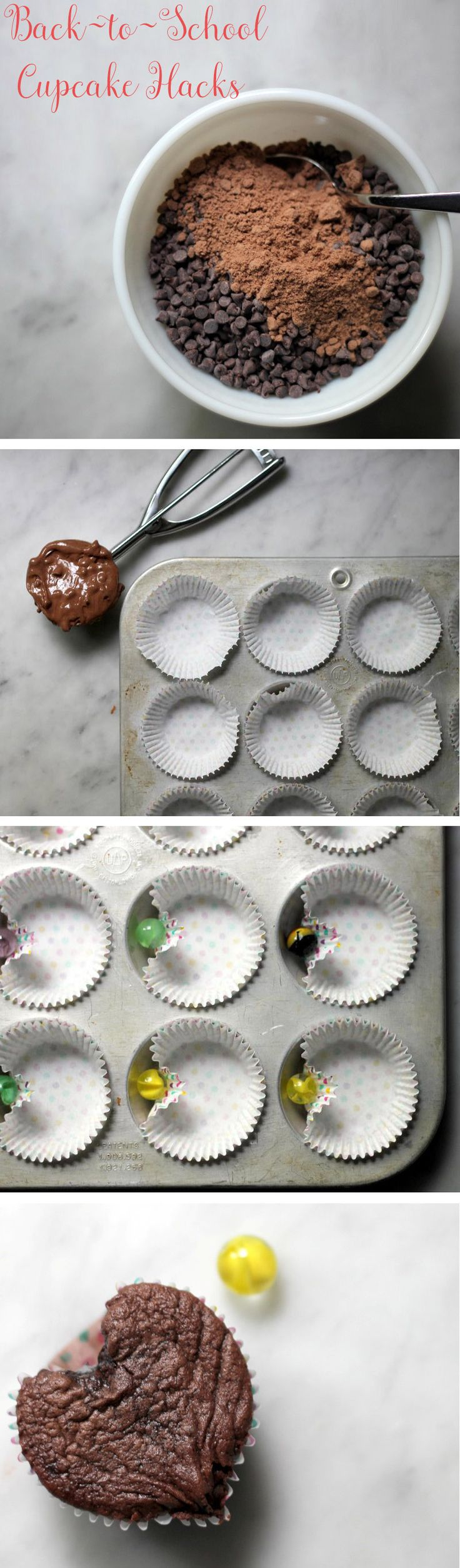 This may be our yummiest hack ever! Back-to-school means back to bake sales, so we're here to help make your life a little easier with these cupcake hacks.