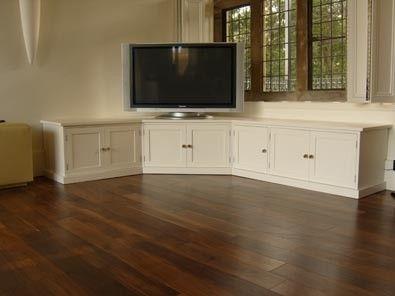 Dark Wood Corner Tv Stand - Foter