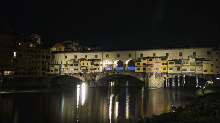 Greob - Light Painting - Light Art  - Ponte Vecchio, Firenze, Italy - 2016 #lightpainting #lightart #Italy #florence #firenze