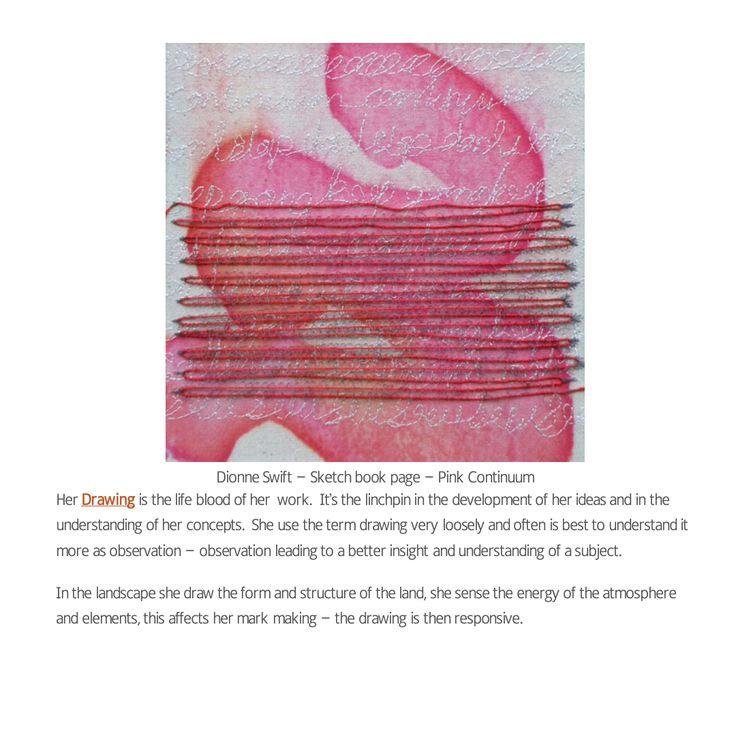 Contemporary textile fashion designer's work.