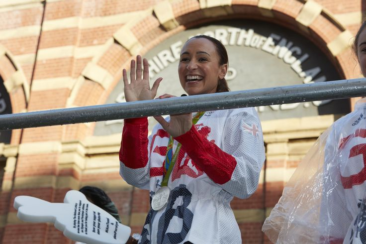 Jessica Ennis-Hill. Yesterday, 17 October 2016, saw Britain's Olympic and Paralympic heroes parade through the streets of Manchester. Despite the rain, over 100,000 people turned out to show their support for our sporting stars. Greater Manchester Police's officers and staff were on hand to ensure the safety and security of all. www.gmp.police.uk