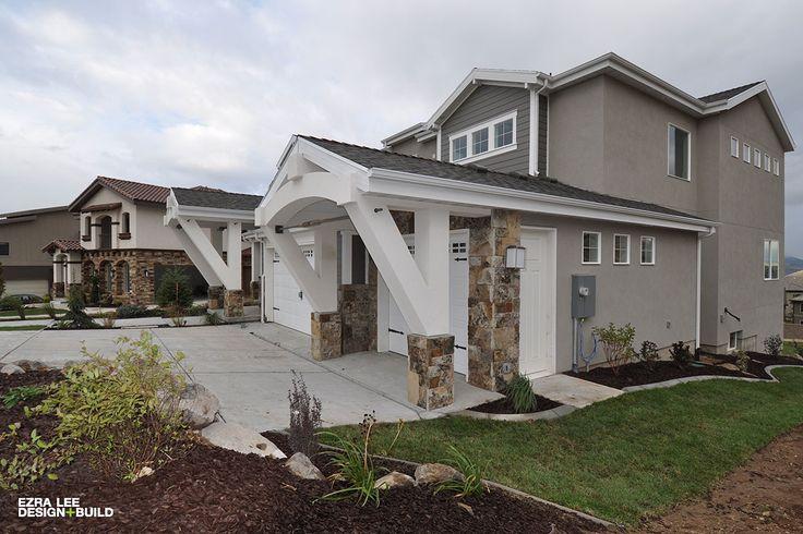 Contemporary Craftsman By Ezra Lee Design Build House