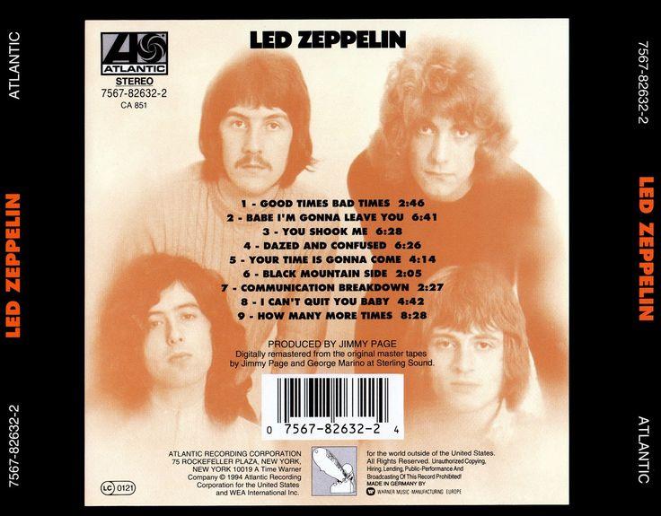 208 Best Led Zeppelin I Images On Pinterest Classic Rock