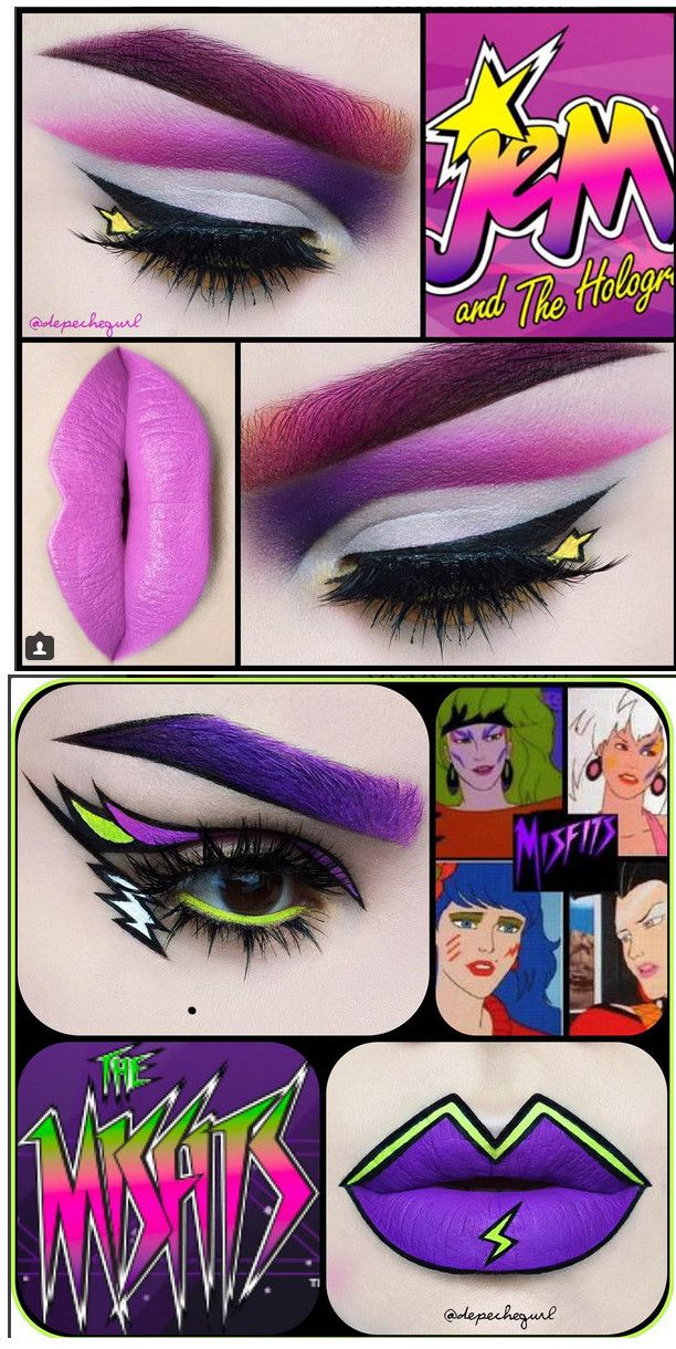 Best 25 jem and the holograms ideas on pinterest jem costume tumbleboof amazing jem and the holograms inspired makeup by depechegurl ccuart Images