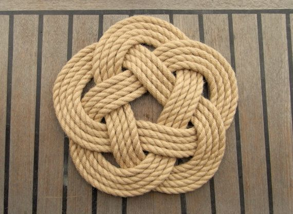 17 best ideas about nautical rope on pinterest rope knots knots and nautical - Hemp rope craft ideas an authentic rustic feel ...