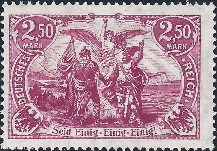 2,50M Genius with Torch - Weimar Republic 1920 * #stamp #auction #stampauction #germanstamp #DeutschesReich #Mark #Genius #WeimarRepublic