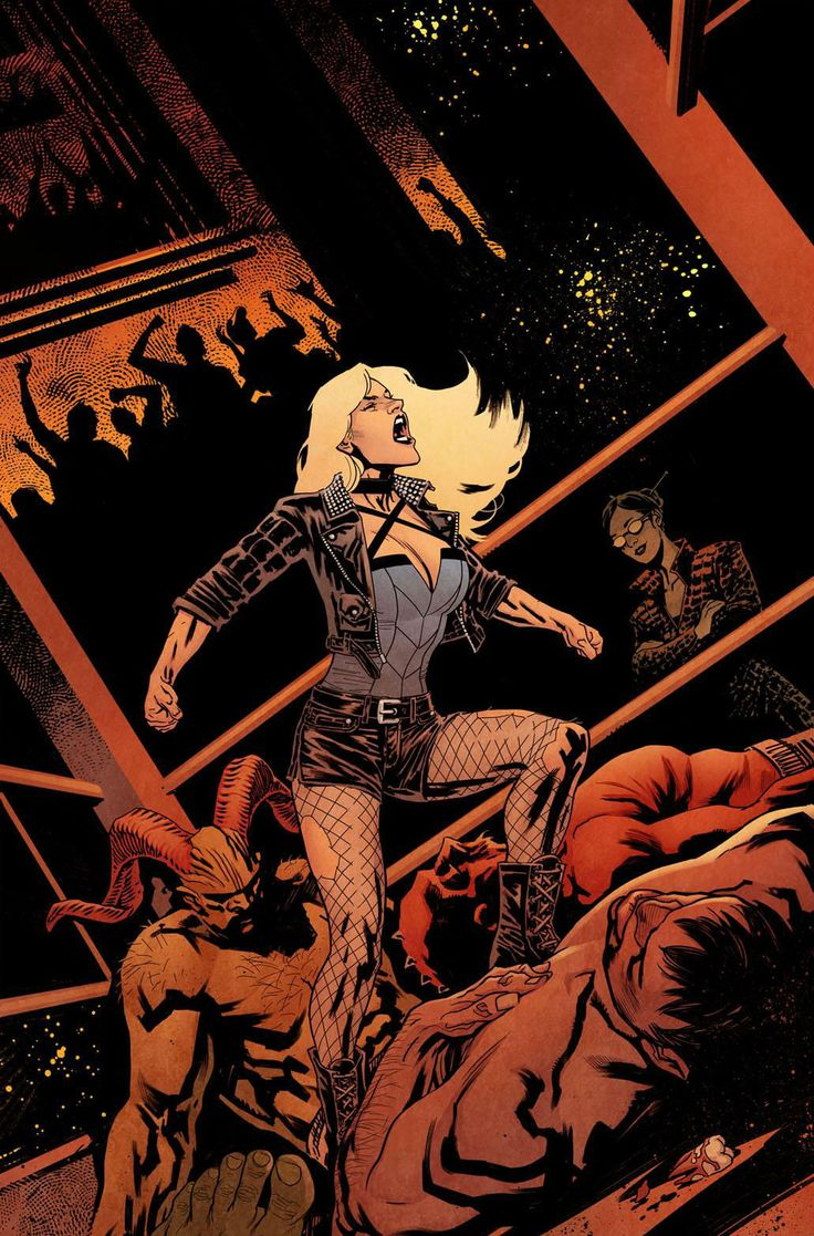 Black Canary by Yanick Paquette