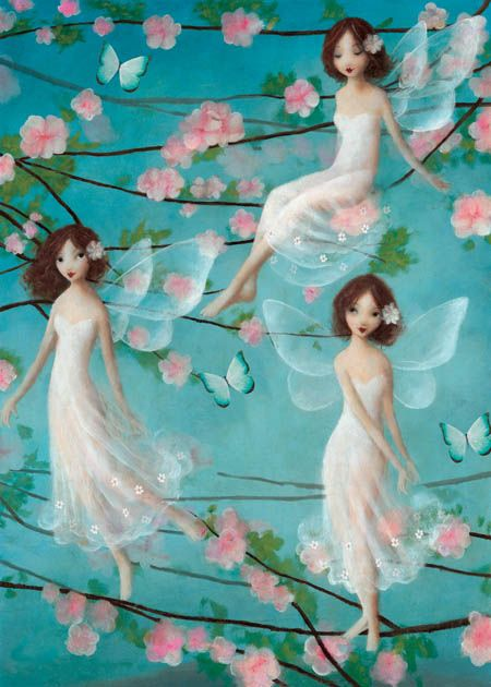 Greeting Card designed by Stephen Mackey from his 'Porcelina' range.
