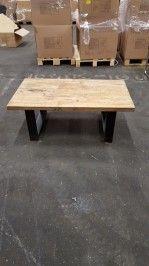 Reclaimed wood salontafel - Parket-, laminaat en kurkvloeren te Utrecht - BVA Auctions - online veilingen