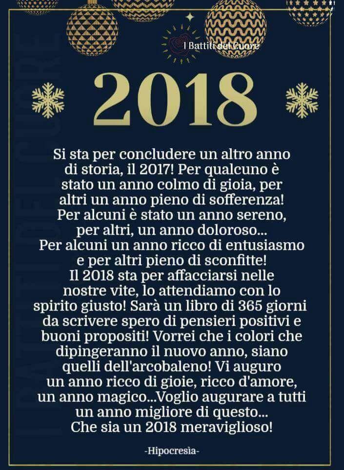Che sia un 2018 di #tanta pace nei nostri ❤..Buon anno