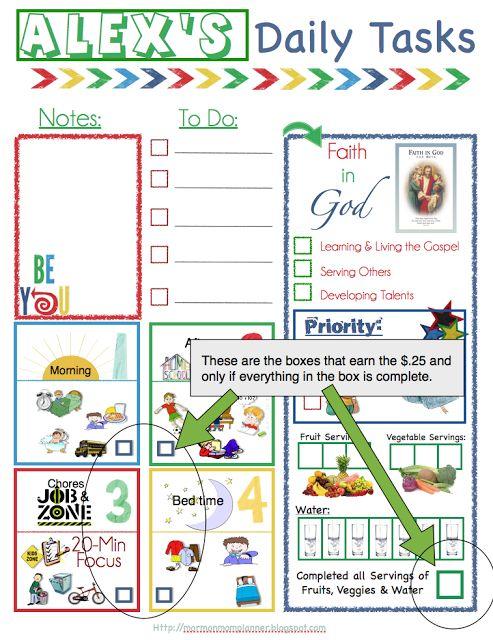 Teen Center Monthly Calendar 80