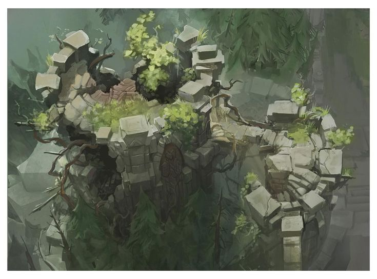 ArtStation - Summoners Rift Update, Grace Liu