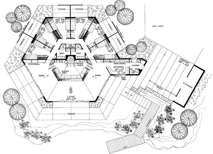 93 best Hexagonal architecture images on Pinterest | Architecture ...