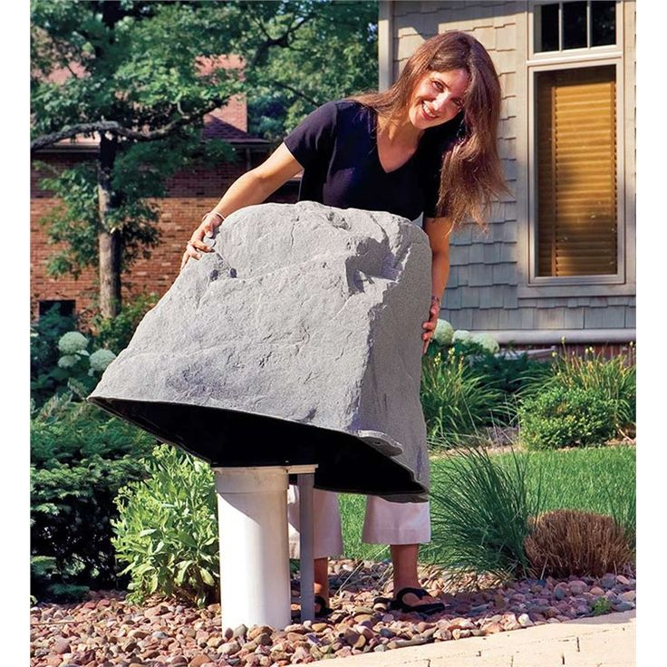 USA-Made Large Mock Rock® | Maintenance Free $119.00