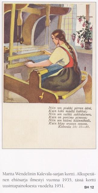 Kalevala: Martta Wendelin