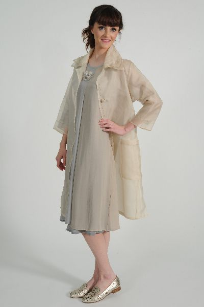 Heritage Silk Organza Coat - the cupboard