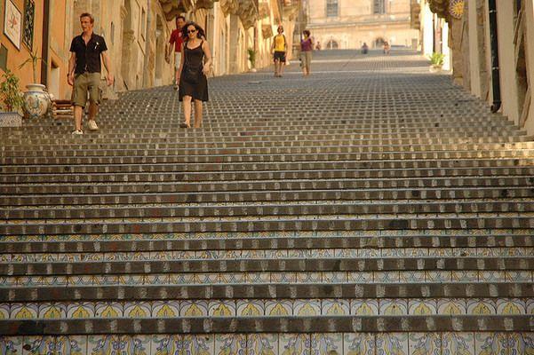 Ceramic Steps of Caltagirone | Atlas Obscura