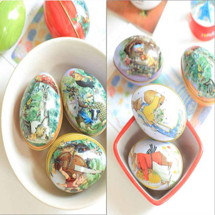 Cheap jewelry fruit, Buy Quality jewelry trinket box directly from China jewelry gallery Suppliers:                                                                              Easter Egg Painted Eggshel Tin