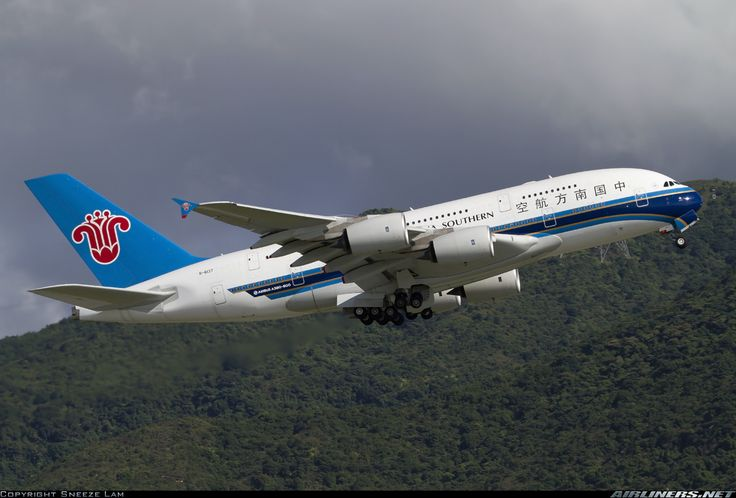 China southern airlines b6137 airbus a380841 aircraft