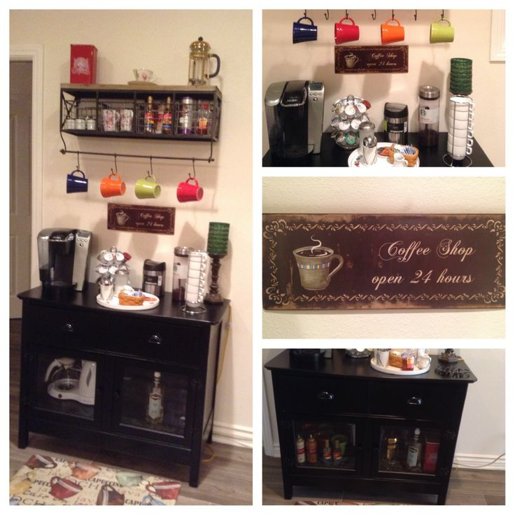 Tiny Craftsman Comes With Espresso Station: Coffee Mug Holder, Mug