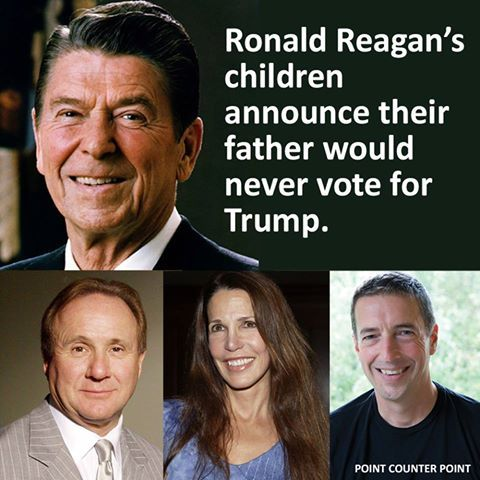 I also maintain that my late parents, who had been Republicans and staunch Reagan supporters, would never vote for Trump.