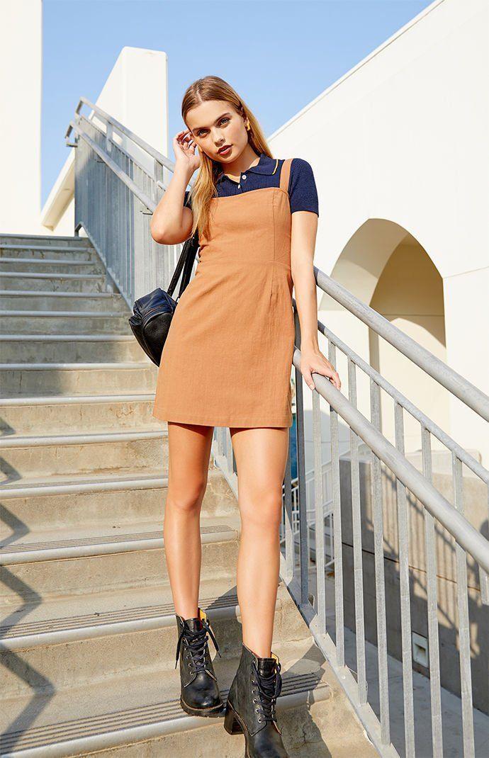 a3b1cda3cd Kendall   Kylie Linen Mini Dress in 2018