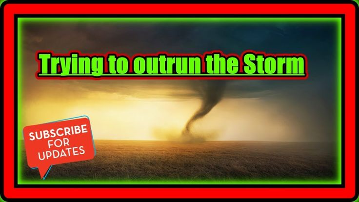 Trying to outrun the Storm Rudi's NORTH AMERICAN ADVENTURES 01/10/18 Vlog#1309 - YouTube