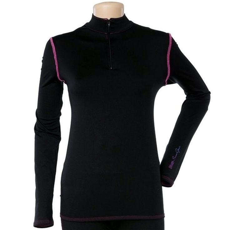 Divas Snow Gear Cold Weather Subpolar Mid Weight Base Layer Womens Tops