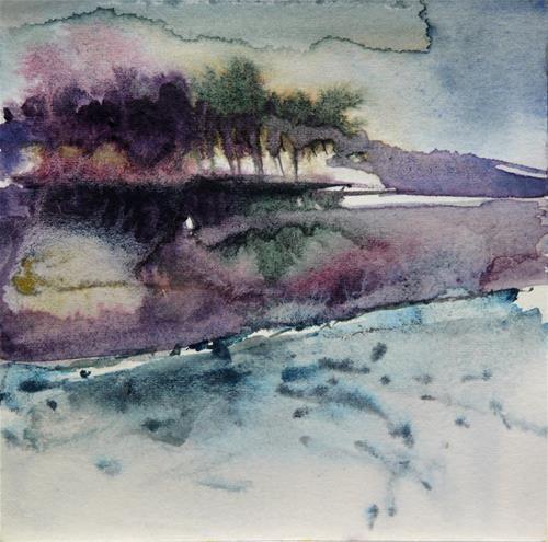 """winter_7"" original fine art by Beata Musial-Tomaszewska"