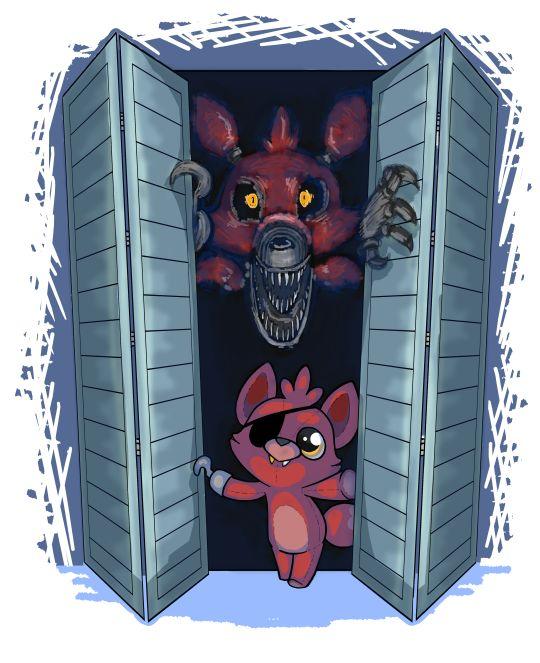 Nigthmare Foxy and Foxy