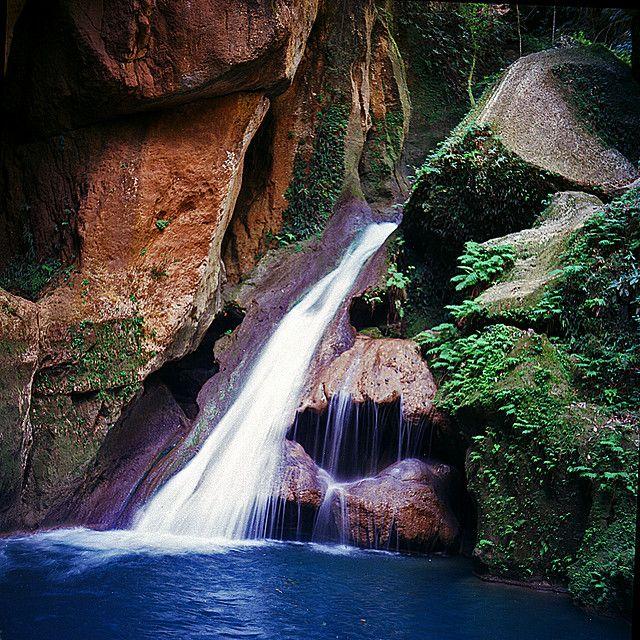 Basin Bleu - Jacmel, Haiti