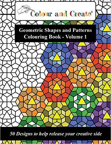 Lovely Create Coloring Book 79 Color and Create Geometric