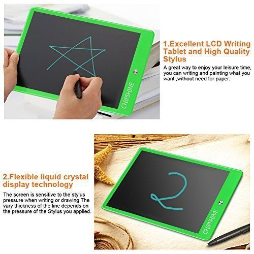 Kids Tablet LCD Writing Reusable Writing Board Toys Toy  Birthday Gift 10.5''  #KidsTablet