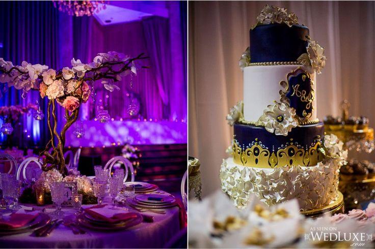 Centerpeice - Oasis Centre - The ARt of Cake - Wedding Reception - Jennifer Bergman Weddings