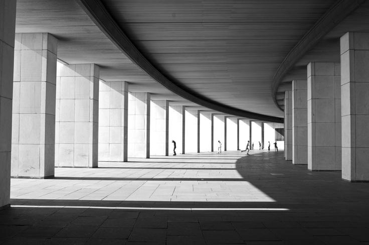 Уроки геометрии by Andre Beriault. Victory Park, Moscow.